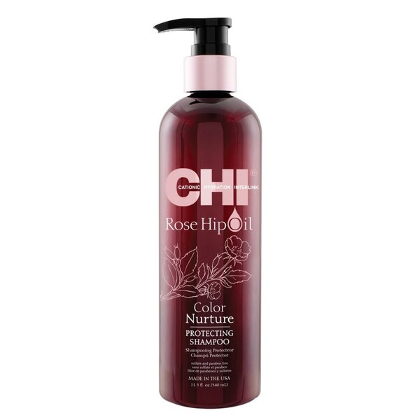 Rose Hip Oil Protecting Shampoo 340ml CHI