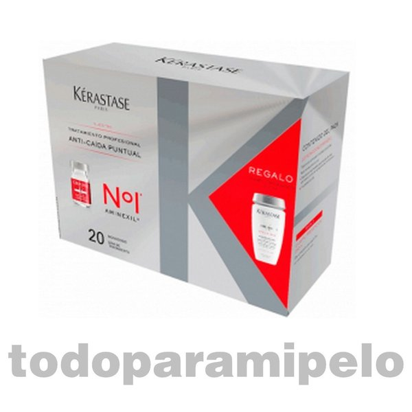 Pack Cure Anti-Caída Aminexil 20x6ml+Bain Prevention KÉRASTASE